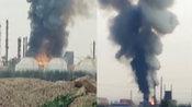 河南省辉县市一家化工厂发生燃爆事故 现场浓烟冲天 已致1人死亡-国内资讯-8斗