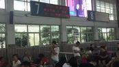 九江火车站广播 G1581次列车开始检票 (回顾2018年7月25日T397运转)