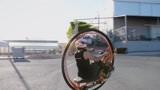 老外自制圆形摩托车,制作过程非常简单,再也不怕翻车了!
