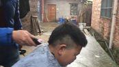 由于疫情的原因 今天我客串Tony老师 为我堂弟剪一个杀马特发型