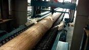 全自动圆木截断机 数控自动原断木机 截断机 原木断料机 正启机械