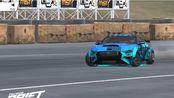 福特野马 The slab Radical 9赛道 个人最高纪录12.5万分(torque drift扭矩漂移)