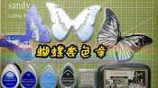 【橡皮章】蝴蝶套色章,视频是自己拍的,但是素材非本人原创,花血本购买原up主素材及月猫印台,清单见视频!
