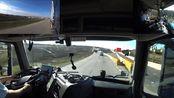【连载】【长期更新】卡车老司机第一人称驾驶183:开VNL的美国老哥放空去拉货