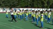 [配课件教案]一二年级体育《2.模仿操第五~六节及考核》安徽省市一等奖2