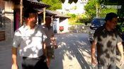 世界徒步协会秘书长陆宏在湖北十堰樱桃沟考察