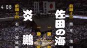 大相扑2019年5月-3日目:炎鹏晃 VS 佐田之海贵士