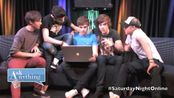 【One Direction】Answering Fan Questions On Ask Anything Chat w/ Romeo, SNOL