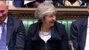 英国议会下院投票否决脱欧协议 国际时政 20190116