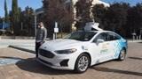 实拍福特Argo AI第三代自动驾驶车