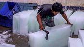 印度冰块是如何制作的?难怪吃完肚子痛,幸好没生在那?