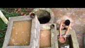 疯狂原始人探秘:建造漂亮的水池瀑布