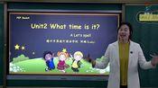 [0228]四年级英语(人教版)《Unit 2 What time is it? A. Let's spell》-邹璐[赣州市厚德外国语学校]   赣教云