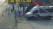 民警连续执勤眼睛发炎,女子途经发现又返回送药来,请保护好自己的身体!