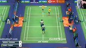 2019 香港羽毛球公开赛 16强赛 男单 黄凯祥/刘成 vs 吉德翁/苏卡穆约