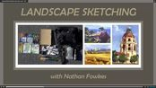 LESSON1 - Landscape Sketching in Watercolor and Gouache with Nathan Fowkes