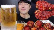 - 均馆公子 GyunTV - [SUB] 炸鸡啤酒吃播篇 NO.1 SPICY CHICKEN & COLD BEER ONE