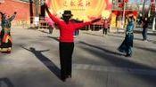 (19)锅庄舞《背水姑娘》金色阳光地坛斋宫藏族锅庄舞队.2019.01.28.