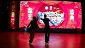 沧州敬民组合在精舞门年度综艺盛典上表演吉特巴(跳舞网录制)