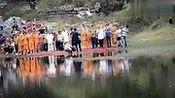武僧少林水上漂120米 刷新118米世界纪录