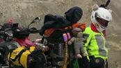 偶遇女骑士美娜,马上进入219国道最险峻的山路,非常的艰辛!
