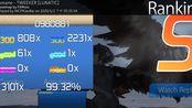 【osu!mania】TWEEKER [LUNATIC] 99.32% Full Combo 198pp