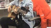 学习弹唱李健的《贝加尔湖畔》,吉他太太太好听了