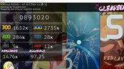 【osu!mania】4K 3dan v2 97.25%