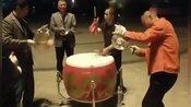 江苏镇江丹阳农村大锣鼓表演,大叔的锣鼓打的好精彩