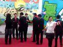第四届宗濂书院团工委学生会联谊舞会组织部部门展示