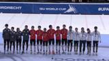 2分42秒442!短道速滑多德雷赫特站,混合接力2000米中国队夺冠