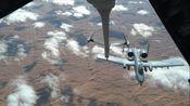 科技与军事:驻阿联酋的美国空军第908空中加油中队KC-10为A-10进行空中加油(1608)