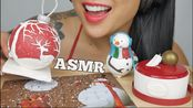 【sas】助眠食用巧克力雪人+圣诞饰品+拼图(吃的声音)不说话| SAS-助眠(2019年12月26日7时15分)