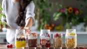 【Pick Up Limes】5种健康元气隔夜燕麦早餐 起床可以直接吃!