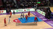 【原声回放】CBA第20轮:辽宁vs吉林第3节 巴斯抢断折叠暴扣