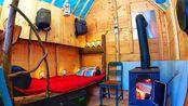【木屋】【Outsider】【推荐】一天就能建成的便携移动板房 part 2 加个床