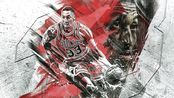 NBA2KOL2-S2测评 斯科特·皮蓬(蝙蝠侠)隔扣伦纳德鏖战加时接管比赛