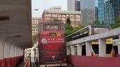 「正车一部」「倍速片」Hong Kong Bus 九巴 KMB 富豪超级奥林比安 3ASV387 KP7203@268C由观塘码头开往朗屏站(全程不剪接)
