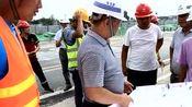 公司安全专项检查领导小组莅临成都轨道TJ07标检查指导