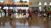 锦州比赛(大连凌空2队~凌海)男子团体平推十六强争夺赛