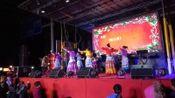 云南省昭通市阿卯舞蹈在浙江省温州市献舞蹈