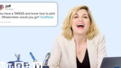 Jodie Whittaker Answers Doctor Who Questions From Twitter   Tech Support   WIRED