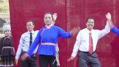 通道独坡村侗族祭萨节歌舞会,广场舞《把好运送给你》