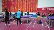 """孟村县第三届""""体彩杯""""乒乓球比赛:于洪源V王吉刚A"""