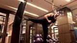 斯科特·阿特金斯腿法训练,转身后蹬腿堪称招牌动作!