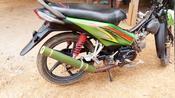用竹子做的摩托车排气管效果怎样,小伙作死测试,结果出人意料