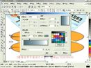 西安平面设计培训哪家好 coreldraw排版教程  cdr入门教程  cdr教程 展示灯架15-2
