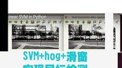 svm+hog+滑窗检测