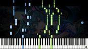 【楽譜あり】Nagaame to Gosenhu [霖と五線譜] - marasy8 [まらしぃ] / Full version.(Synthesia)【触手猴