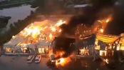 厦门同安区一工厂发生重大火灾 损失恐高达上千万
